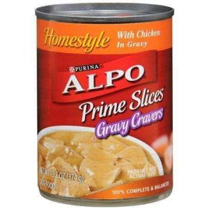 ALPO DOG FOOD PRIME SLICES CHICKEN 623G
