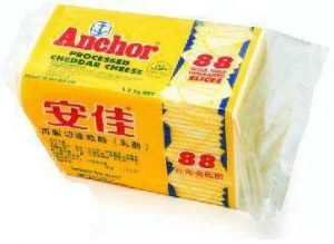 ANCHOR CHEDDAR CHEESE SLICES (88) 1.2KG