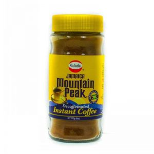 SALADA MOUNTAIN PEAK INSTANT COFFEE DECAF 170G