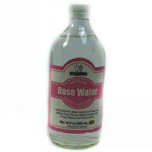 BENJAMIN ROSE WATER 480ml