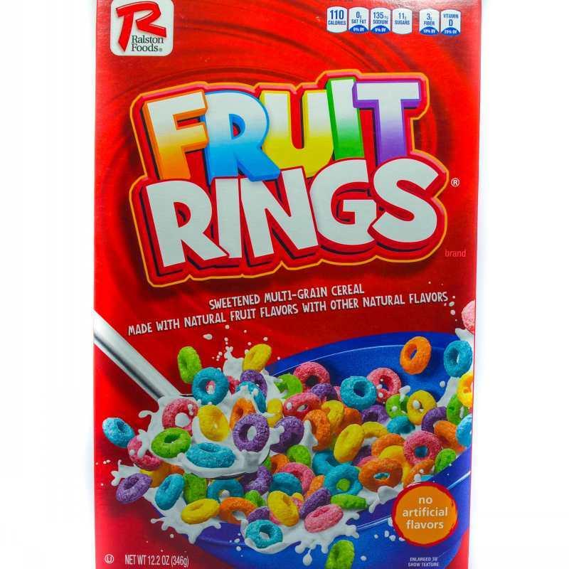 RALSTON FOODS FRUIT RINGS 346G