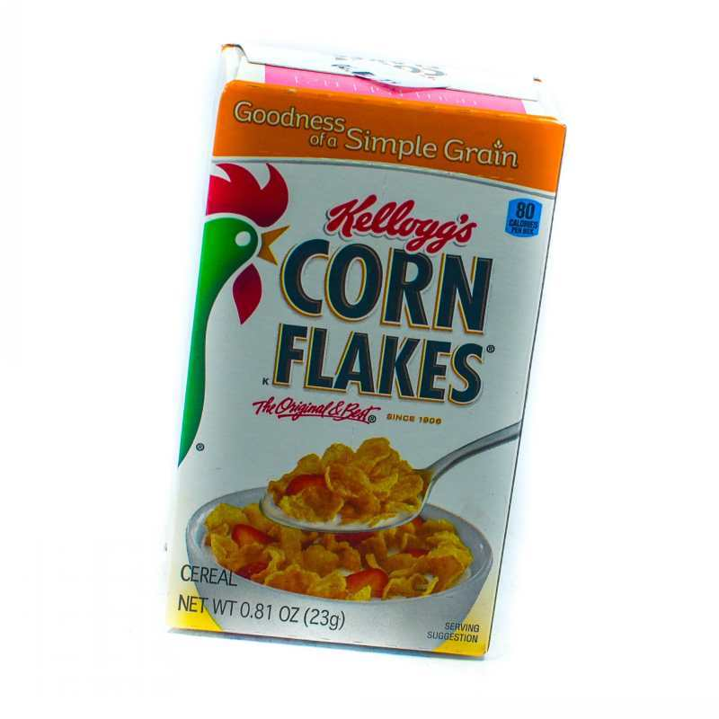 how to produce corn flakes