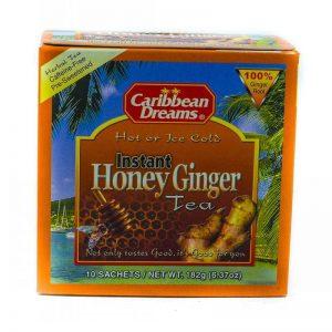 CARIBBEAN DREAMS INSTANT HONEY GINGER TEA 10'S