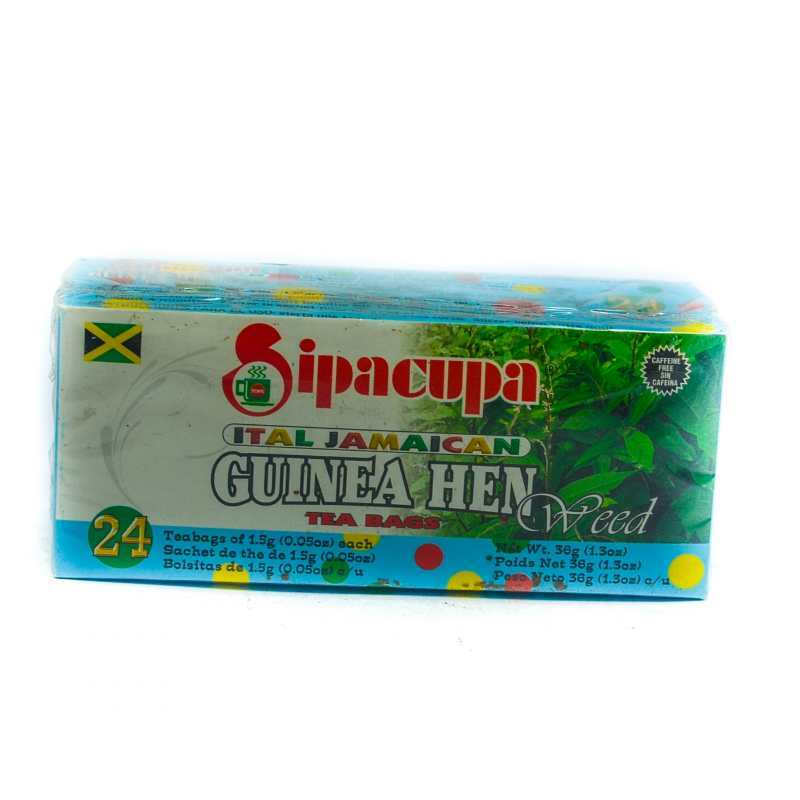 Tops Sipacupa Guinea Hen Weed Tea Bag 24 S Leave A Comment