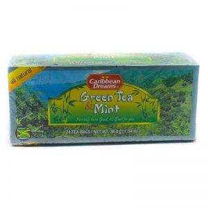 CARIBBEAN DREAMS GREEN TEA & MINT TEA 24's
