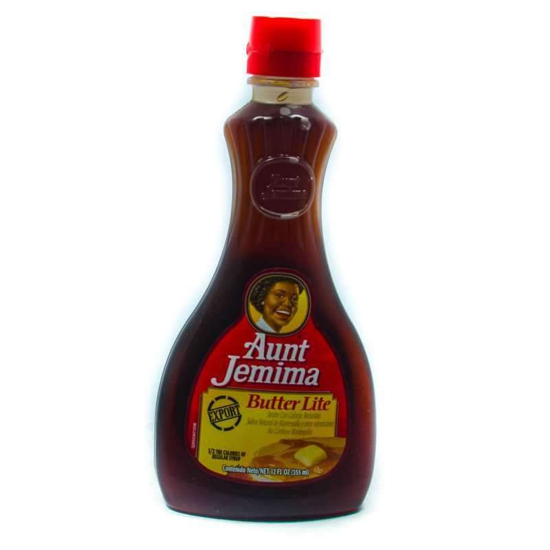 Aunt Jemima Butter Lite Syrup 355ml Grocery Shopping