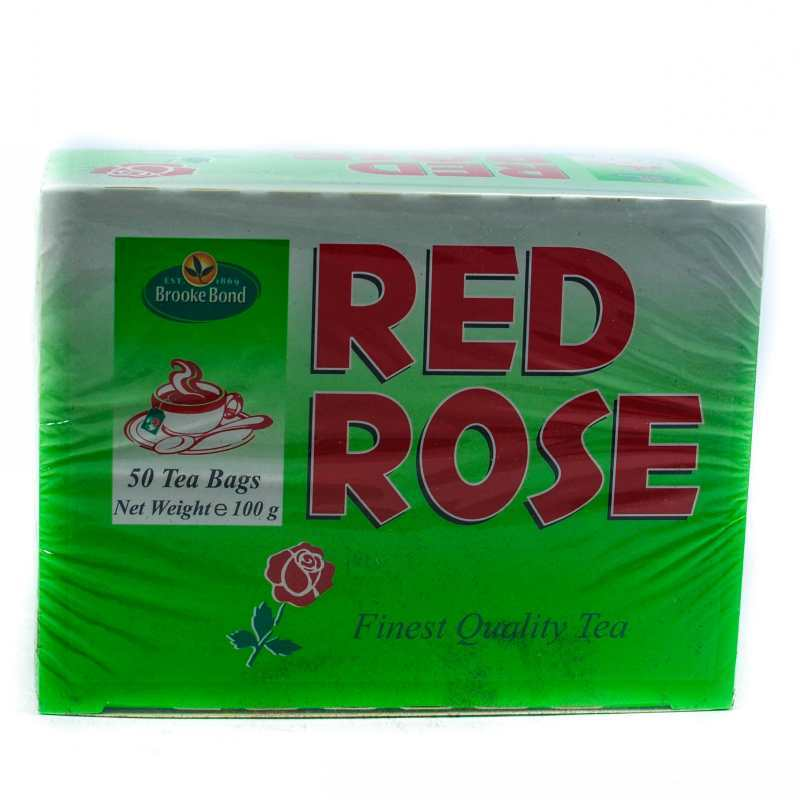Red Rose Tea Bag 50t 100g Grocery Shopping Online Jamaica