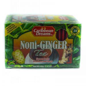 CARIBBEAN DREAMS NONI-GINGER TEA 20'S