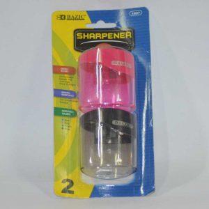 2-HOLE PENCIL SHARPENER 2PK