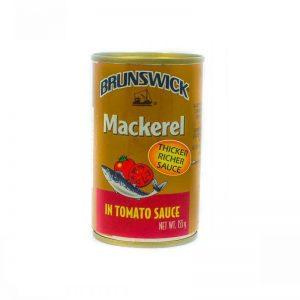 BRUNSWICK MACKEREL IN T/SAUCE 155G
