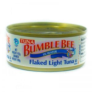 BUMBLE BEE FLAKED LIGHT TUNA IN WATER 142G/170G