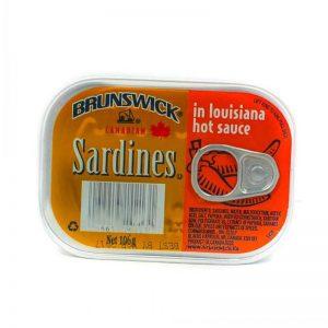 BRUNSWICK SARDINES ASSRT 106G