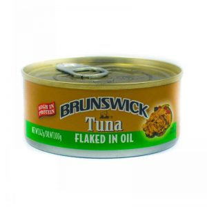 BRUNSWICK TUNA FLAKED IN OIL 170G