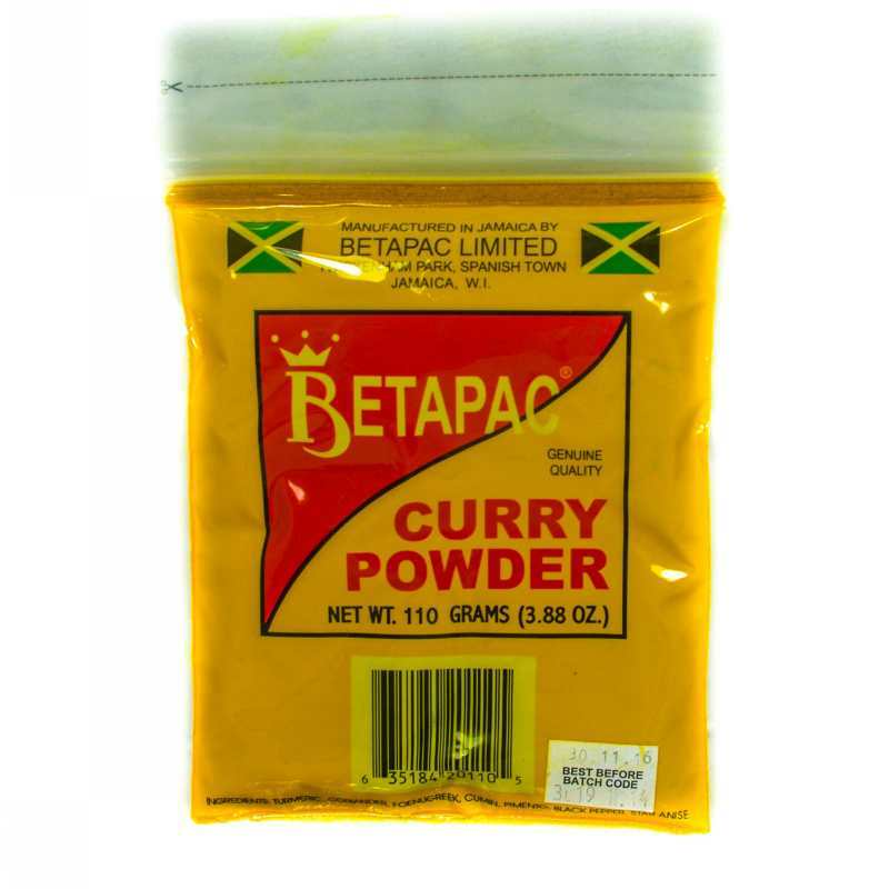 Betapac Curry Powder 110g Grocery Shopping Online Jamaica