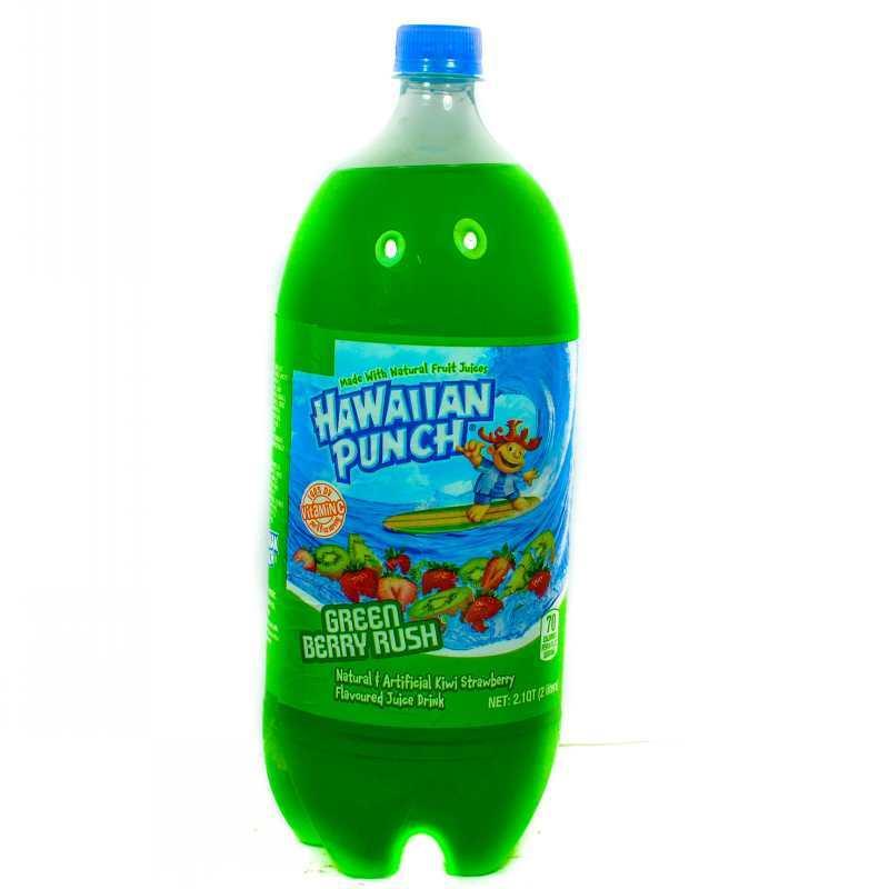 Hawaiian Punch Green Berry Rush 2lt Grocery Shopping