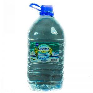 LIFESPAN SPRING WATER 5LT