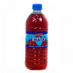WATA CRANBERRY FLAVOURED ASSRT. 600ML