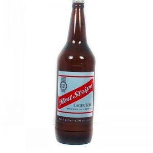 RED STRIPE BEER 1LT (LIQUID)