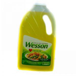 WESSON 100% NATURAL CANOLA OIL 1.89L