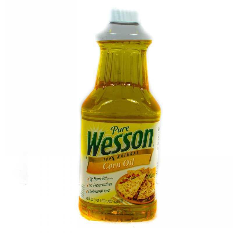 Wesson Corn Oil