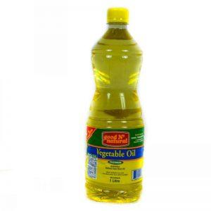 GOOD N NATURAL VEGETABLE OIL 1L