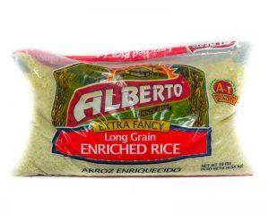 ALBERTO A1 WHITE RICE 10LBS