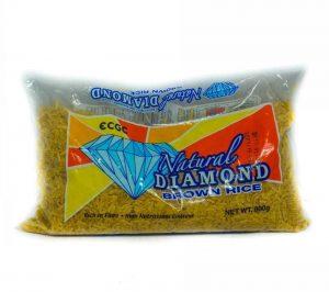 NATURAL DIAMOND BROWN RICE 800G