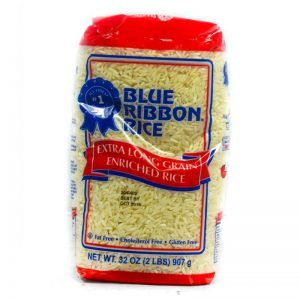 BLUE RIBBON EXTRA LONG GRAIN WHITE RICE 907G (2LBS)