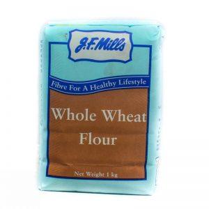 JF MILLS WHOLE WHEAT FLOUR 1KG