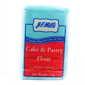 JF MILLS CAKE AND PASTRY FLOUR 1KG
