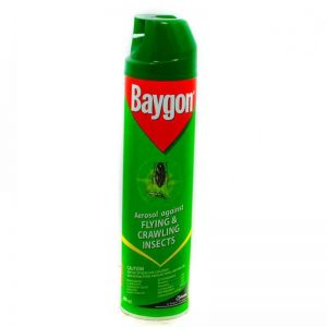 BAYGON AEROSOL FLYING CRAWLING 400ML