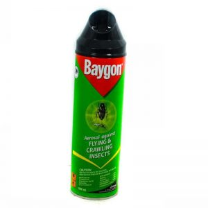 BAYGON AEROSOL FLYING CRAWLING 600ML