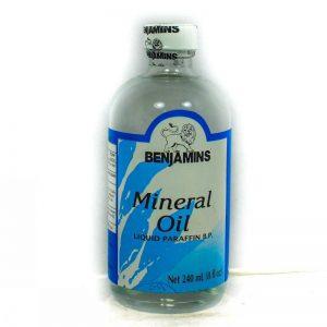 BENJAMINS MINERAL OLIVE OIL 240ML
