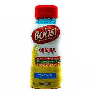 BOOST ENERGY DRINK VANILLA 237ML