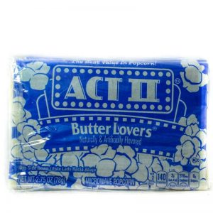 ACT2 MICROWAVE POPCORN B/LOVER 85g