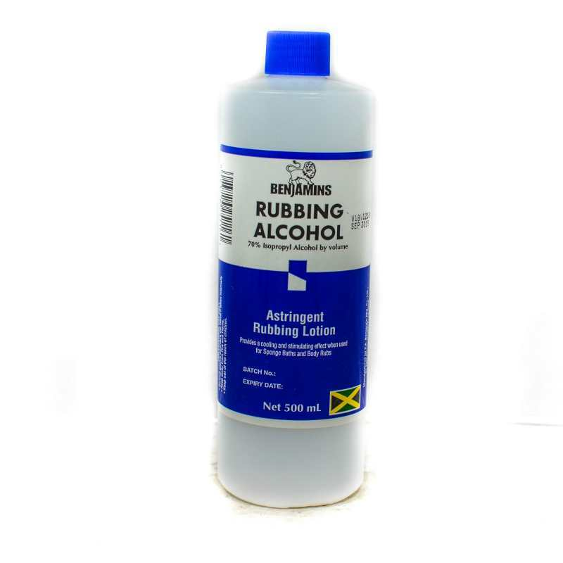 Benjamins Rubbing Alcohol 500ml Grocery Shopping Online
