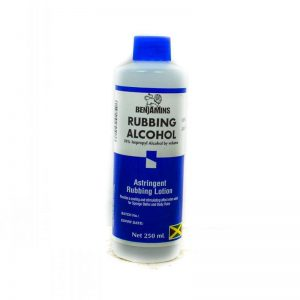 BENJAMINS RUBBING ALCOHOL 250ML