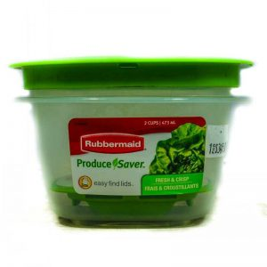 RUBBERMAID PRODUCE SAVER 2CUP