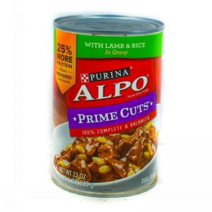 ALPO DOG FOOD PRIME CUTS LAMB & RICE 623G