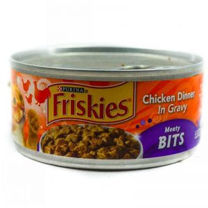 FRISKIES ASSRT MEATY BITS CHCKN DINNER 156G