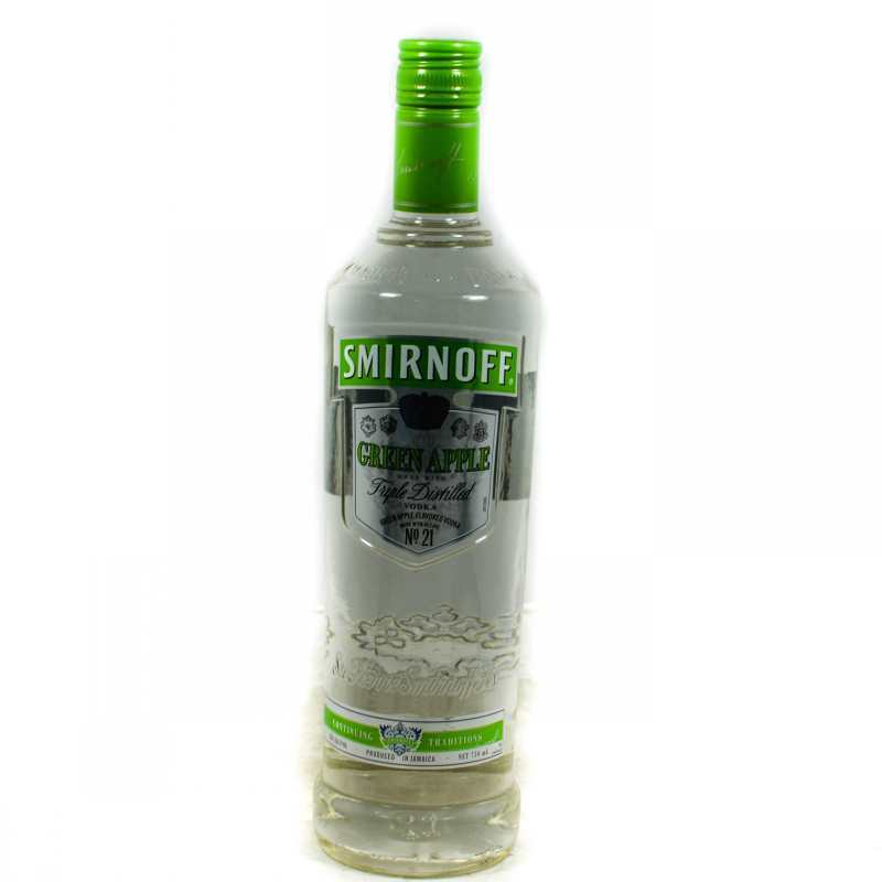 SMIRNOFF PREMIUM VODKA GREEN APPLE 750ML – Grocery ...