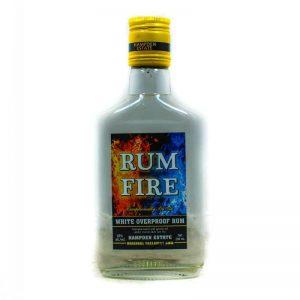 RUM FIRE WHITE OVERPROOF RUM 200ML