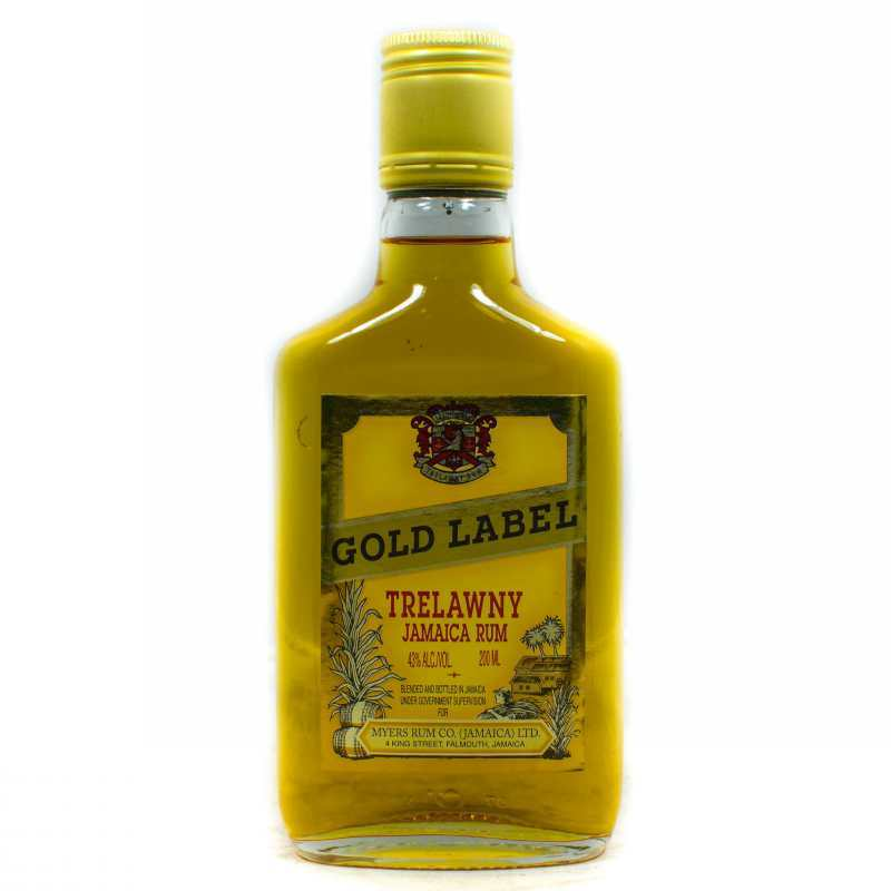 GOLD LABEL TRELAWNY RUM 200ml