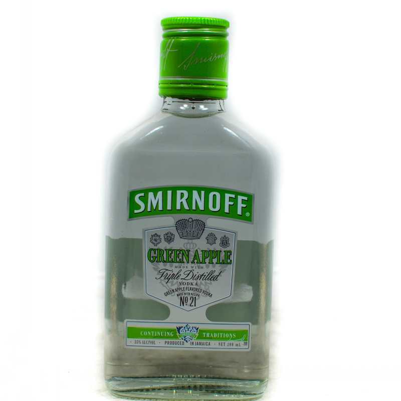 SMIRNOFF VODKA GREEN APPLE 200ML – Grocery Shopping Online ...