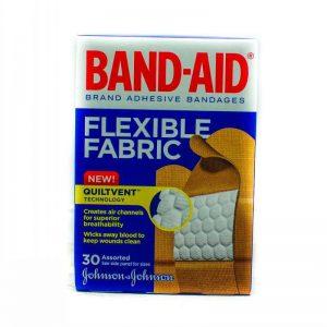 BAND-AID FLEXIBLE FABRIC 30'S