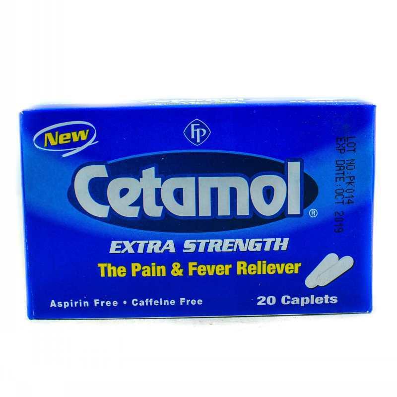 Cetamol Extra Strength 20 S Grocery Shopping Online Jamaica