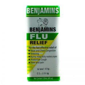 BENJAMINS FLU RELIEF 120ML
