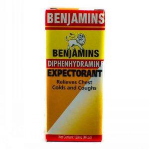 BENJAMINS EXPECTORANT 120ML