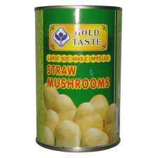 GOLD TASTE STRAW MUSHROOMS