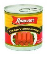 RAMSONS CHICKEN VIENNA SAUSAGES 140G